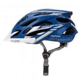 KASK ROWEROWY METEOR GRUVER blue/white